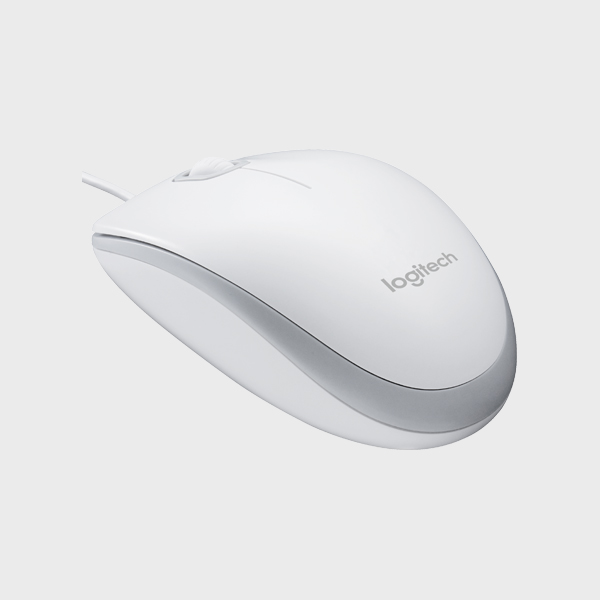 MOUSE M100 USB WHITE