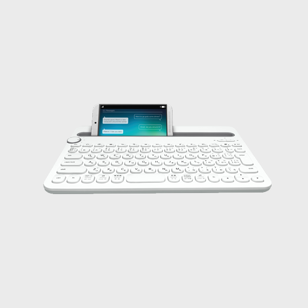 KEYBOARD K480 BT MD US WHITE