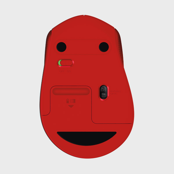 MOUSE SILENT M330 RF RED