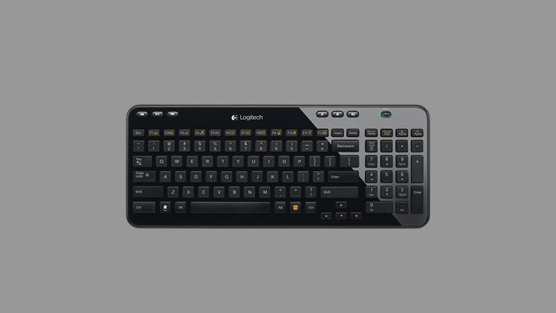 KEYBOARD K360 RF BLACK