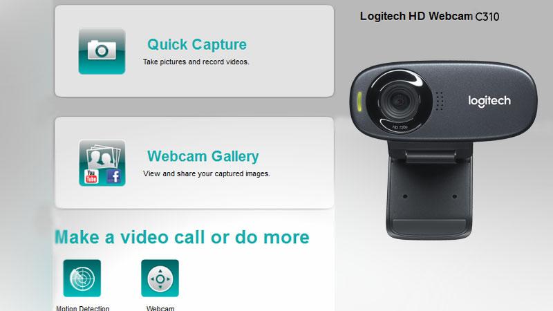 WEBCAM C310 HD