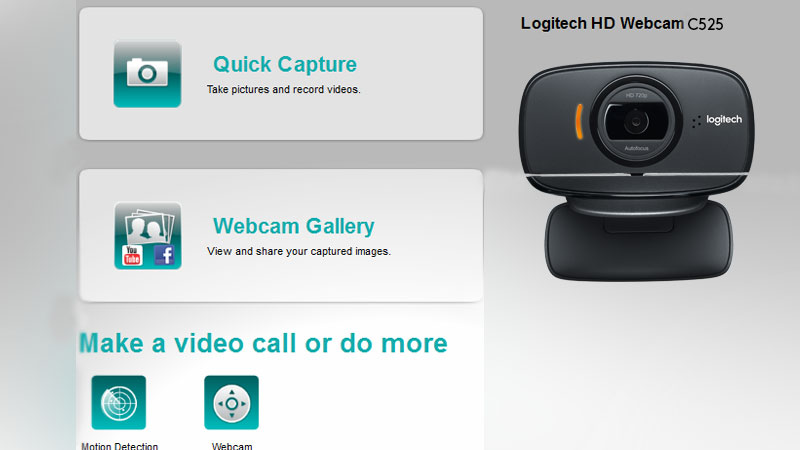 WEBCAM C525 HD