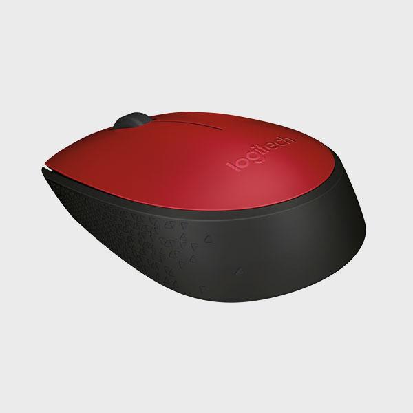 ماوس لاجیتک قرمز MOUSE M171 RF RED
