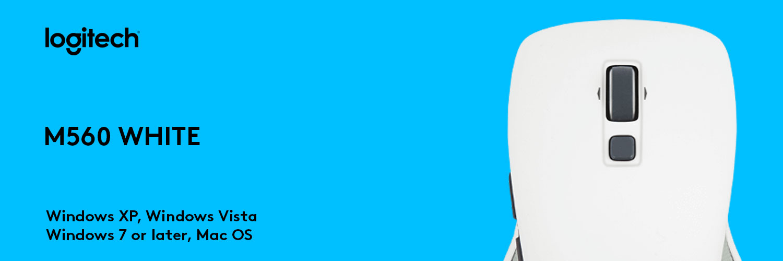 ماوس لاجیتک سفید MOUSE M560