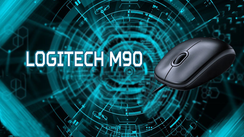 MOUSE M90 USB GREY