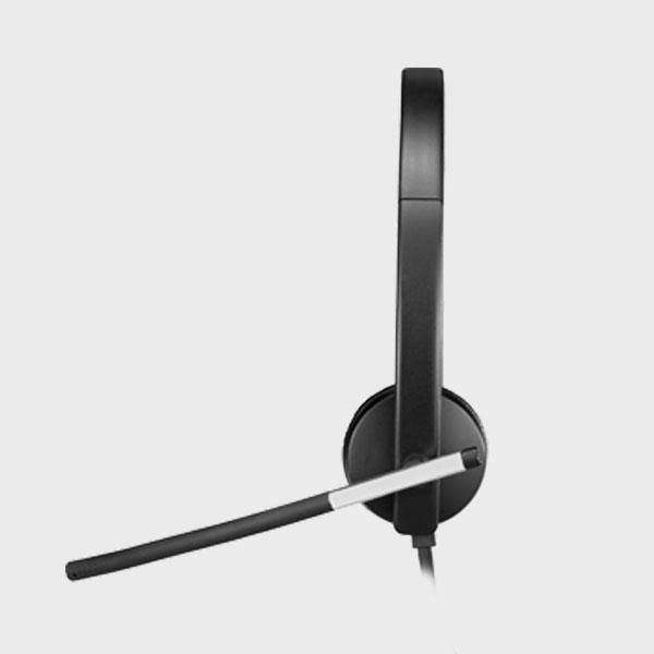 هدست لاجیتک HEADSET H650e USB MONO BLACK