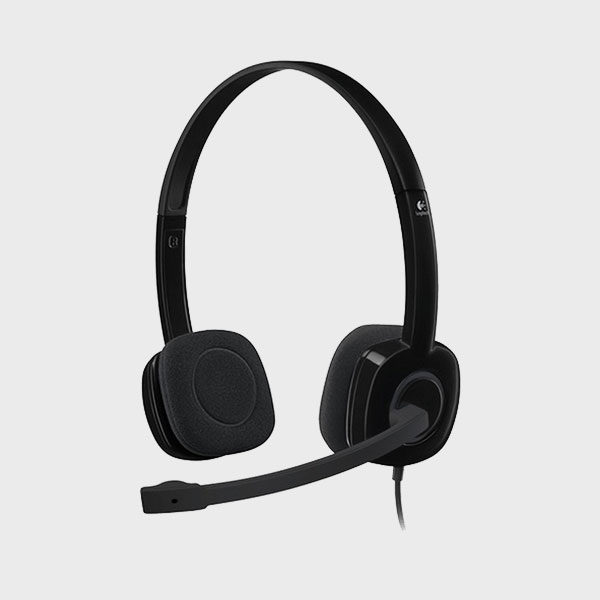 هدست لاجیتک HEADSET H151 AG BLACK