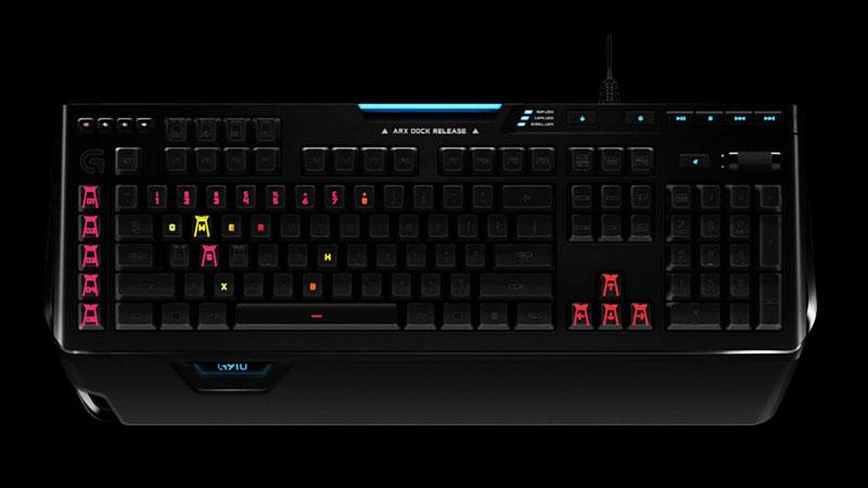 کیبورد لاجیتک جی KEYBOARD G910 Spectrum