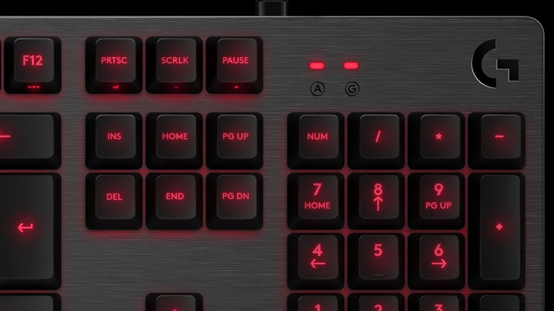 کیبورد لاجیتک جی GAMING KEYBOARD G413