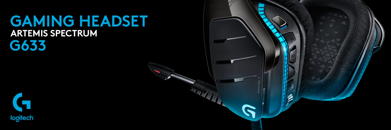 هدست گیمینگ لاجیتک جی HEADSET G633 ARTEMIS SPECTRUM