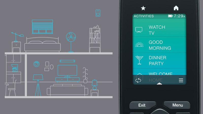 تجهیزات خانه هوشمند لاجیتک هارمونی HARMONY ULTIMATE