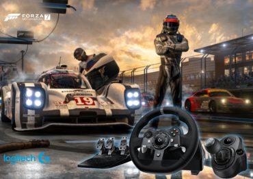 فرمان بازی لاجیتک جی مدل logitech G G920 به دستگاه های Xbox One ،PC متصل می شود. این محصولات به صورت فرمان، پدال و دنده تولید شده اند.