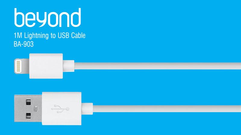 کابل شارژ آیفون و آیپد بیاند lightning cable BA-903