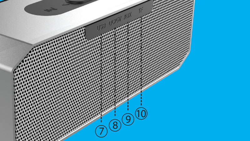 اسپیکر بلوتوث پرتابل بیاند BZ-2233 SB