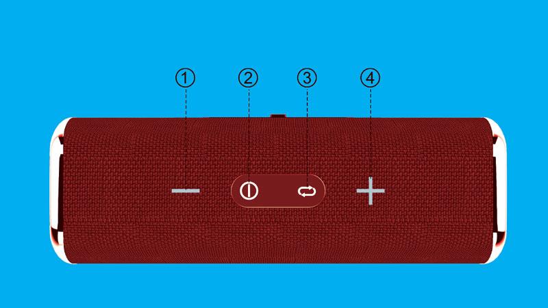 اسپیکر بلوتوث پرتابل بیاند BZ-2222 R