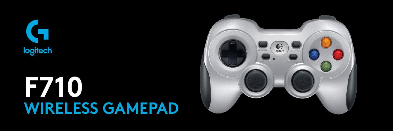دسته بازی Logitech® Wireless Gamepad F710