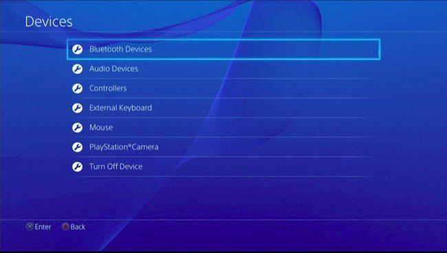 اتصال کیبورد و ماوس به PS4