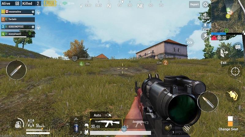 Pubg mobile in game