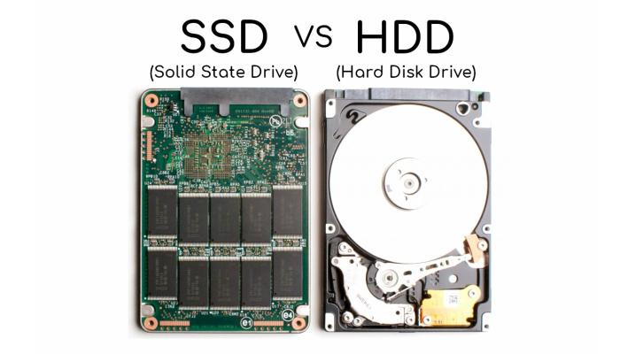 تفاوت هارد و ssd