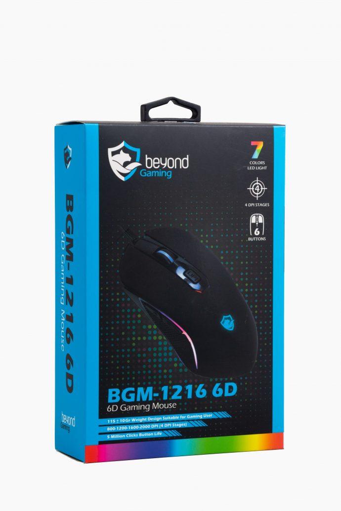ماوس گیمینگ بیاند BGM-1216 6D